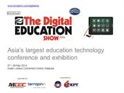 Digital Education Show Asia 2014 Partnership Prospectus