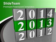 New Year Planning With 2013 PowerPoint Templates PPT Backgrounds For S