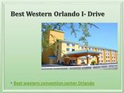 Best western convention center orlando