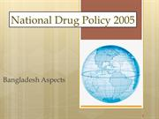 Drug policy Bangladesh 2005