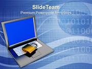Padlock On Keyboard Data Security And Protection PowerPoint Templates
