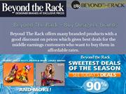 Beyond The Rack – Buy Designer Brands