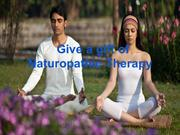 Give a gift of Naturopathic Therapy