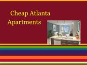 Atlanta Apartments