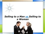 Selling to a Man vs Selling to a Woman