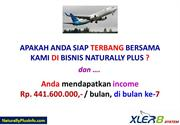 Peluang Bisnis S Lutena Naturally Plus Indonesia, Income Rp. 441 Jt.