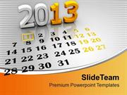 2013 Calendar Template PowerPoint Templates PPT Themes And Graphics 01