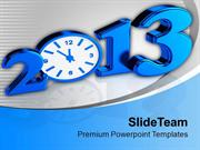 2013 Time Concept New Year PowerPoint Templates PPT Themes And Graphic