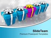 Christmas Presents Festival PowerPoint Templates PPT Themes And Graphi