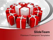 Collection Of Gifts Anniversary PowerPoint Templates PPT Themes And Gr