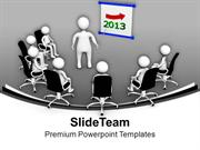 Meeting For 2013 Business PowerPoint Templates PPT Themes And Graphics