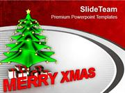 Merry Christmas Abstract PowerPoint Templates PPT Themes And Graphics