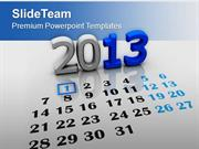 New Year Calendar Holidays PowerPoint Templates PPT Themes And Graphic