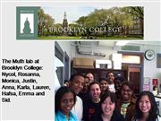 Brooklyn College Undergraduate Research