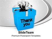 Thank You Gift Box Design PowerPoint Templates PPT Themes And Graphics