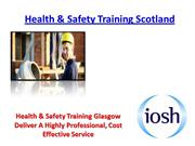 Health & Safety Training Scotland