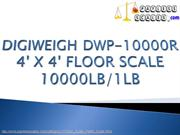 FLOOR SCALE 10000LB/1LB - DIGIWEIGH DWP-10000R 4' X 4'