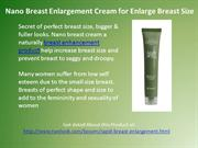 Nano Breast Enlargement Cream for Enlarge Breast Size