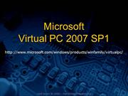 Microsoft Virtual PC 2007 (Milis Elektronika Strada)