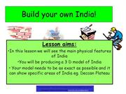 Lesson 2 Build your own India