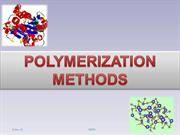POLYMERIZATION METHODS