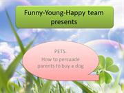 How to persuade parents to buy a dog