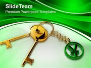 Key To Success Finance Business PowerPoint Templates PPT Themes And Gr