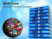 Languages Of The World Global PowerPoint Templates PPT Themes And Grap