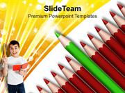 Standout From Crowd Education Concept PowerPoint Templates PPT Themes