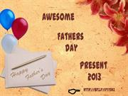 2013 Cheap Fathers Day Gift Ideas