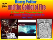 Harry Potter-Goblet of Fire