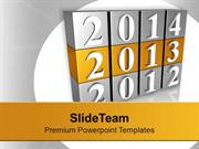 New Year 2013 2014 New Target PowerPoint Templates PPT Backgrounds For
