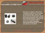 Caterpillar Forklift Parts By Panaceaco