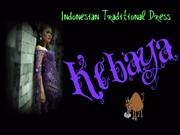 Kebaya Indonesian TraditionalDress