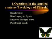 Thyroid and parathyroid diseases Q and A