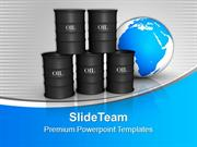 Oil Trading Concept Global Business PowerPoint Templates PPT Themes An