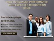 Use Employee Recognition Gifts to Improve Worker Performance