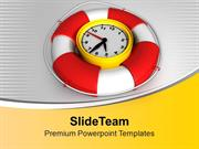 Time To Be Safe Success PowerPoint Templates PPT Themes And Graphics 0
