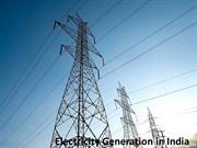 Electricity Generation in India