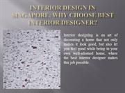 Interior Design In Singapore Why Choose Best Interior Designer