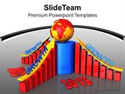 Business Graph For Year 2013 PowerPoint Templates PPT Themes And Graph