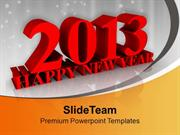 Concept Of Upcoming New Year PowerPoint Templates PPT Themes And Graph