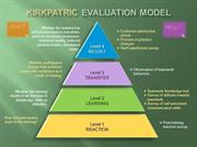 Kirkpatrick Evaluation Model