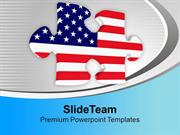 American Jigsaw Puzzle PowerPoint Templates PPT Themes And Graphics 01