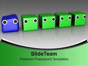 Different Individuality Leadership PowerPoint Templates PPT Themes And