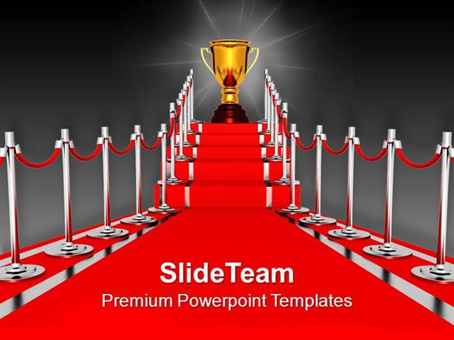 red carpet award ceremony powerpoint templates ppt backgrounds for, Modern powerpoint