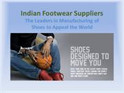 Indian Footwear Suppliers