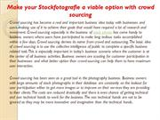 Make your Stockfotografie a viable option with crowd sourcing