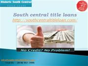 South central title loan