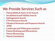 Patent Search and analytics